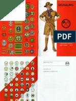 (BSA) Signaling Merit Badge Phamplet (1940)