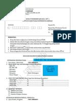 s p t Contoh Pengisian Belanko Wajib Pajak Pribadi Imb Ruko Atau Usaha Atas Nama Milik Sendiri PDF