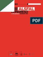 VIII Congreso ALSFAL - Libro de Conferencia
