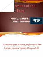 Assessment of the Eyes