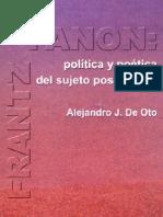 Frantz Fanon - Política y poética del sujeto poscolonial
