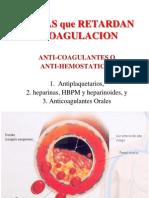 3.2. Anticoagulantes