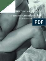 la cara… - Francisco Enríquez Muñoz