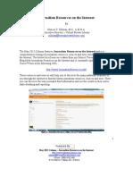 Online Journalism Resources