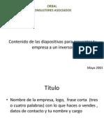 Como Presentar La Empresa
