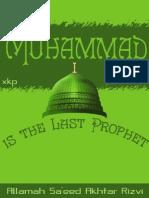 Muhammad (S) is the Last Prophet - Allamah Sayyid Saeed Akhtar Rizvi - XKP