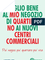 No a nuovi centri commerciali Confesercenti Trentino