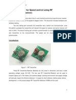 Application Notes RF (transmitter and Receiver)