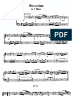 Beethoven Sonatina in F