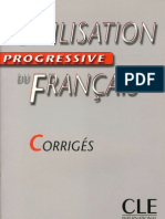 Civilisation progressivecorrigés