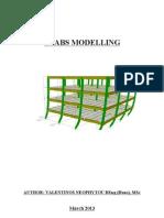 etabs modeling