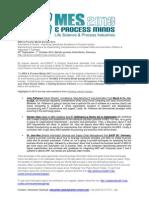 MES & Process Minds 2013 - Top Stories