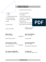 Proposal Pra Study 2012