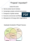 W1 Strategic Overview of Project Management ( Incl PMI Approach)