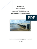Manual for Inspection  of Structures