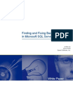 Finding and Fixing Bad SQL in Microsoft SQL Server 2000