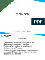 U09 VLSM CIDR