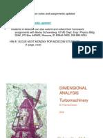 Dimensional Analysis Std