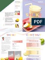 Cartea Cu Retete de Shake-uri Wellness
