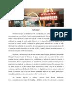 Analiza Strategiilor de Marketing Ale Companiei McDonald (1)
