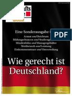 Wie gerecht Ist Deutschland? Wirtschaftswoche Global 2013