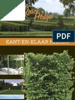 QuickHedge Kant en Klaar Hagen 1-12