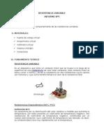 informe 5 de física