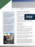 Introduction to Eurocode 6 - Masonry