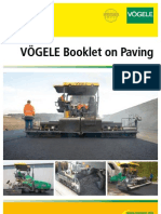 Booklet on Paving