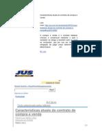 Características atuais do contrato de compra e venda