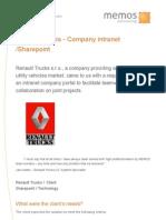 Memos Case Study Renault Trucks