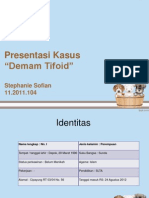 presentasi kasus tifoid