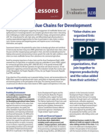 Agricultural Value Chains for Development