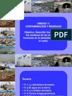 Contaminaciony residuos