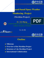 Chinese Meridian Project - Ground based antenna array