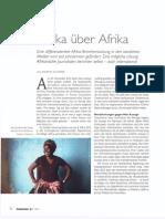 Afrika über Afrika