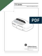GE Corometrics 170 Service Manual