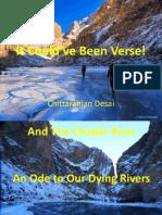 Chadar Diary Slides -Chittaranjan Desai - Bookaholics Open Mic Forum - 23rd Jun 2013