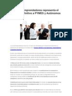 Gestoria Online - Ley Emprendedores