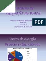 Trabalho de Geografia Do Brasil - Marcella
