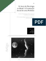 50 Anos de Psicologia No Brasil