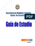 Guia Del Conductor Monterrey