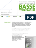 Catalogue Radson Guide Basse Temperature