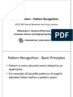 Introduction Pattern Recognition