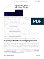Visual Foxpro Manual Del Program Ad Or Cap 1 Al 4
