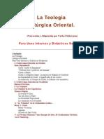 Teologia Liturgica Oriental