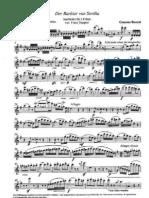 Doppler - Fantasia Sul Barbiere Di Siviglia (2 Flauti Soli) (Fl2)