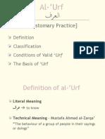 Al-'Urf