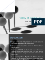 History of Fiqh Stage 6