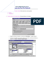 Manual Curso de Aprender III de Visual Fox Pro 6 - Sp